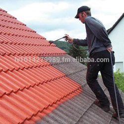 Hydrophobic coating wall, roof, basement