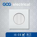 Gehärtetem glas elektrischen schalter, 3-fach 1 weg schaltnetzteil
