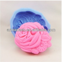 3D Silicone chocolate bar Flower Soap Molds Cake Molds Chocolate - 1x105g