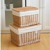 2014 handmade wicker large storage baskets for storage