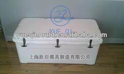 rotomolding insulated plastic fish ice cooler box mold