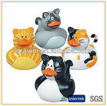 Custom competitive price promotional bating custom wholesale rubber ducks