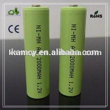 Factory price Environmental nimh battery 1.2v ni-mh aa rechargeable battery rechargeable battery