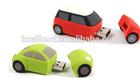 Free sample car shape pvc usb flash drive 2gb 4gb 8gb 16gb