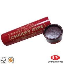 gift packaing paper tube for chocolate