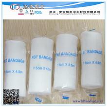 Bandagens médicas / Elastic conforme curativo / nós malhado PBT bandagem