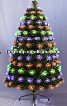 artificial christmas tree LED Rainbow Optical Fiber Christmas Trees