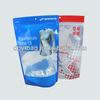 Hot sales clothes packaging bag with zipper