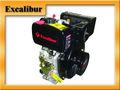 7hp 296cc portátil solo cilindro 4- carrera manual/arranque eléctrico del motor diesel para la venta s178f( e)