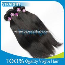 Luvin Hair natural brazilian 100% virgin human hair silk straight