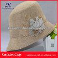 2014 caliente venta hermoso fashional por encargo baratos crema backet tapa de la pesca/sombrero