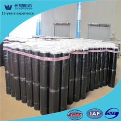 1.2~4mm, Polyester or fiber-glass tire SBS, APP, self-adhesive waterproofing bitumen membrane