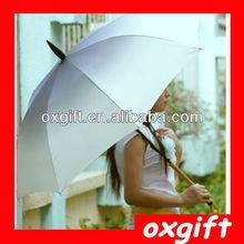 OXGIFT New design 50cm*8k straight writing brush umbrella Chinese style umbrella