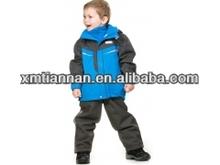 2014 waterproof 5000mm kids ski overall