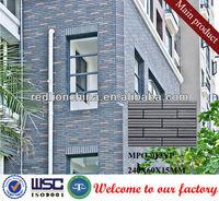 exterior non-slip terracotta facade tile