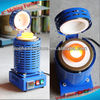 Gold Melting Furnace Automatic Digital 1-4KG Kilo Crucible furnace Melting Machine