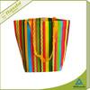 colorful eco shopping bag non woven fabric bag factory
