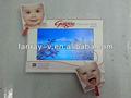 4.3 vídeo polegadas cartões de papel, vídeo em impressão, vídeo brochura de papel cartões