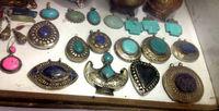 Handmade Afghan Tribal Kuchi Ethinic Gypsy Pendants / Vintage Antique Jewellry