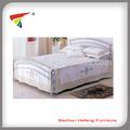 simple de metal cama doble de acero para la venta
