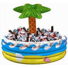 Inflatable Cooler Tropical Luau Hawaiian Palm Tree