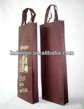 Non Woven Wine Promotional Bag Custom Reusable Bags