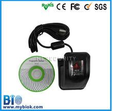 High quality biokey fingerprint scanner,scratchproof Biometric fingerprint scanner (HF9000)
