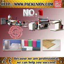 Advanced processing pe foam sheet production line