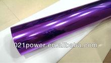 Stretchable Chrome! Metallic chrome mirror car wrap vinyl film 1.52*30m