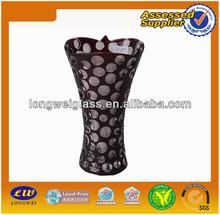 2015 wholesale purple glass vases
