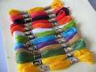 100% CXC original good quality cross stitch thread same as DMC color