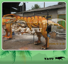 life size walking with dinosaur costume for carnival