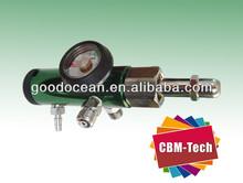 Click-style Pin Index Oxygen Regulator,Aluminum Pin Index O2 Regulator