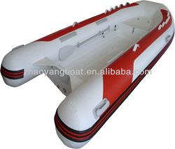 2014 small fiberglass fishing boat pontoon rib