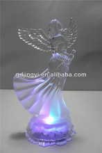 Lovely Acrylic led christmas angel for party decoration