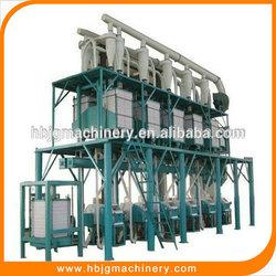 auto 50T/D corn mill plant