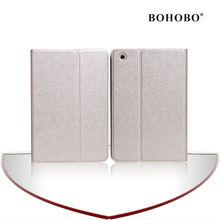 luxury stand folio leather case for ipad mini smart cover