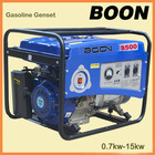 best price 15hp 5.5kw recoil/electric start portable and silent gasoline/petrol generator set