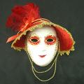 penas de fantasias de carnaval festa de máscara