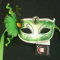 Face a pintura de máscara de carnaval/halloween