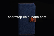Jeans Leather Case For Samsung Galaxy S5