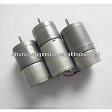 SC25GA370 25mm 12V 24V DC Electric Motor with Gear Reduction
