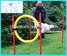 High quality slalom poles dog training equipment