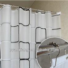 EVA printed custom shower curtain