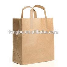 no printing cheap bag craft paper cloth bag
