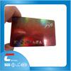 laser film/hologram business cards/hologram printer id card