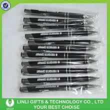 Promotion Gift Customized Logo Black Metal Ball Pen