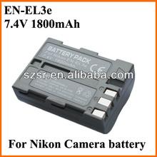 For Nikon EL3E 7.4v 1800mah li-ion polymer battery