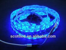 Hot Sale 60leds/m 5M IP65 SMD 5050 addressable RGB Flexible Led Strip ws2811 Waterproof IP6812V 72W