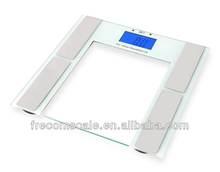 10 users 180kg body analyzer digital electronic body fat scale